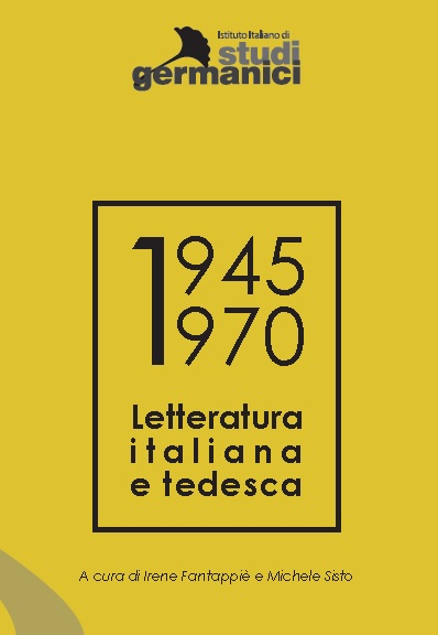 Letteratura italiana e tedesc