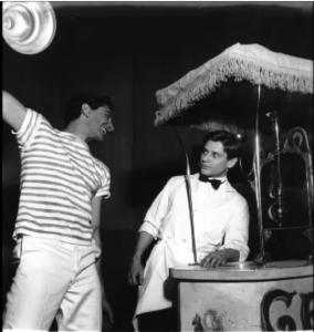 """Una foto di scena del balletto """"Mario e il mago"""""""